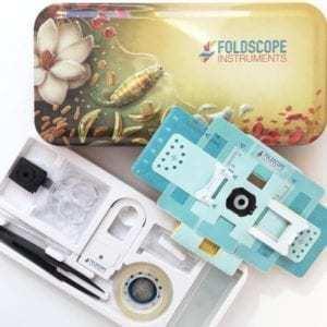 Mikroskopet Foldscope Kickstarter foto